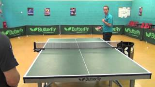 How to Play Table Tennis: Returning Serve