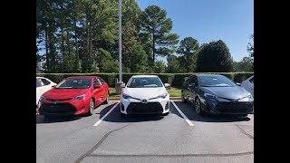 Comparing 2019 Corolla Models - How to pick your trim level