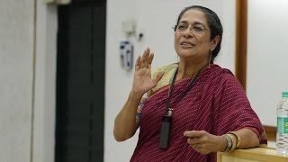 Arundhati - Arundhati Nag speaks on 'Spaces for theatre in a Global World