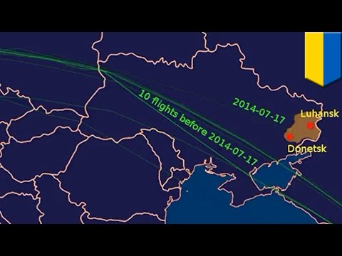 Malaysia Airlines MH17 flew 480km north of normal route