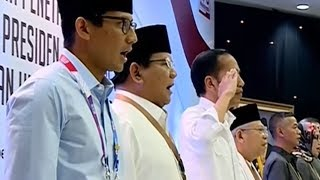 Viral Aksi Jokowi Hormat saat Indonesia Raya Dikumandangkan, Ternyata Begini Aturan Sebenarnya