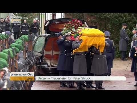 Funeral for Peter Struck - Trauerfeier für Peter Struck