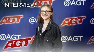 Interview: Sophie Pecora Recalls Her Golden Buzzer Moment - America's Got Talent 2019