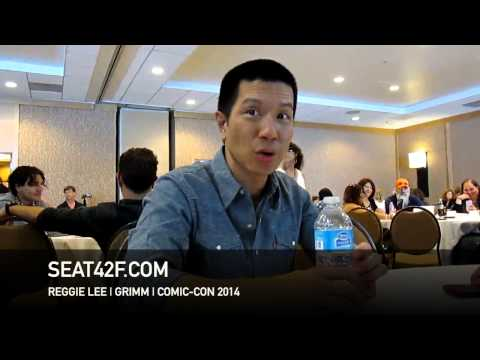 Reggie Lee GRIMM Interview Comic Con 2014