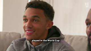 We visited Liverpool's Trent Alexander-Arnold at home to play him at FIFA