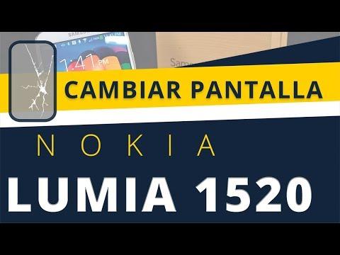 reparar pantalla nokia lumia 1520