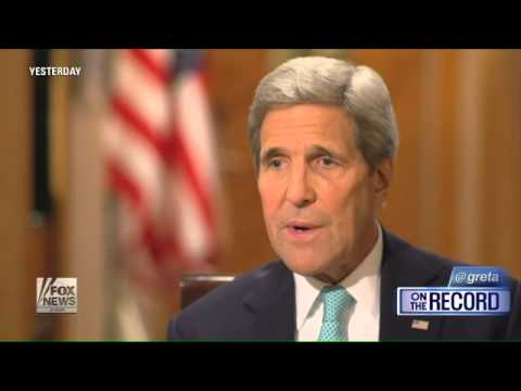 Kerry: Putin wants to shore up Assad and Russia influence
