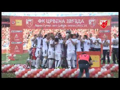 Crvena zvezda - Radnički Niš 2:0, highlights