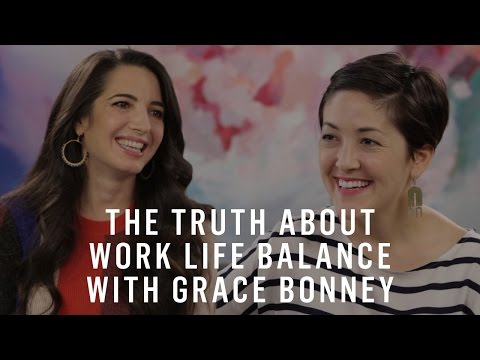 Grace Bonney & Marie Forleo On The Truth About Work-Life Balance