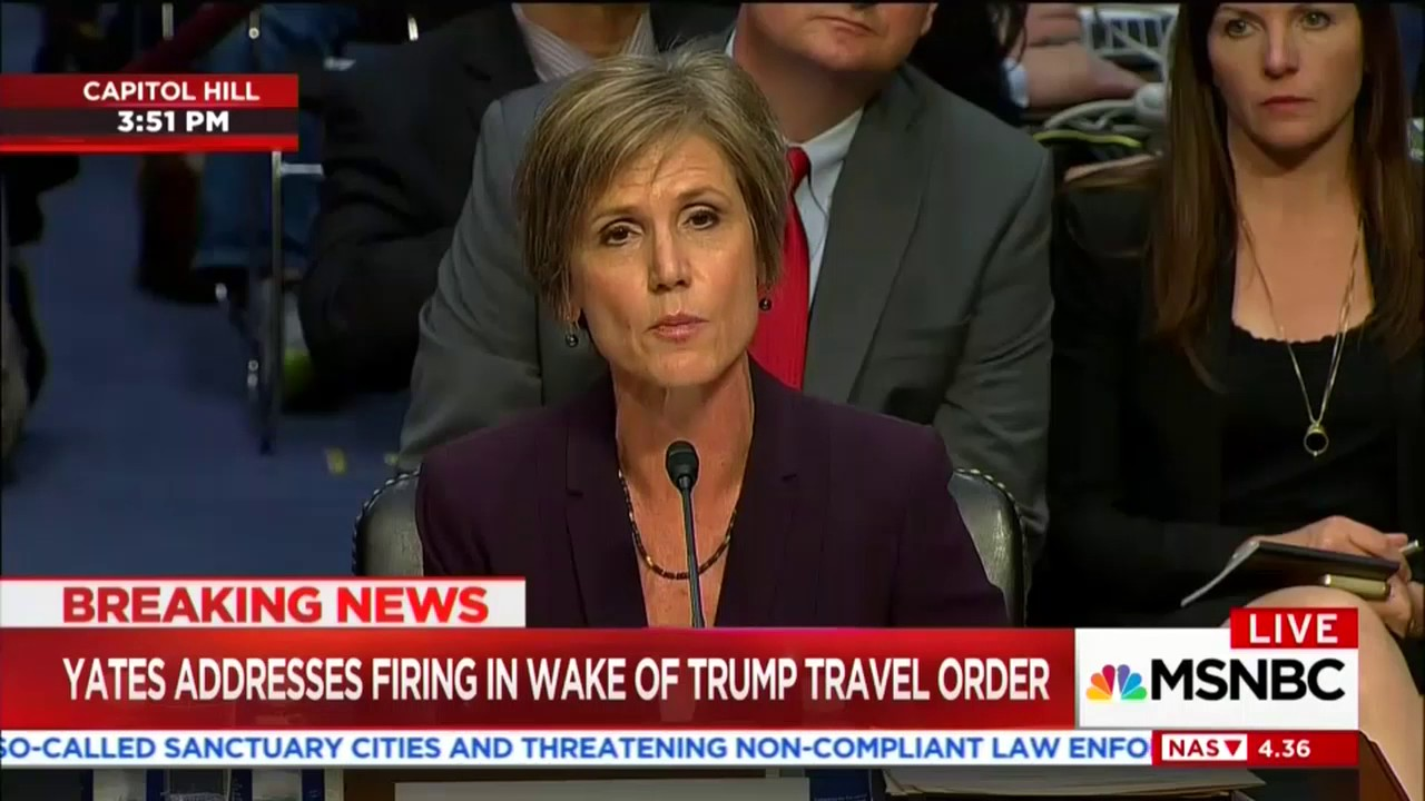 Cornyn uses Flynn hearing to grill Yates about Trump's Muslim ban