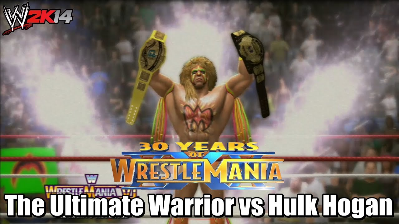 WWE 2K14 30 Years of Wrestlemania - The Ultimate Warrior ...