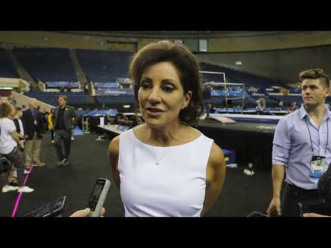 Interview: Valorie Kondos Field, UCLA (Finals) - 2019 NCAA Gymnastics National Championships