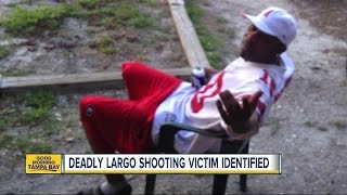 Man gunned down in Largo apartment complex