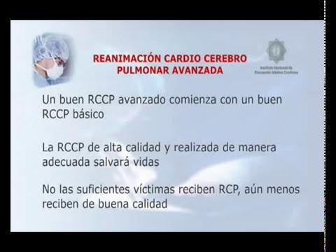 Reanimación Cardio Cerebro Pulmonar Avanzada