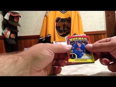 2014-15 UPPER DECK O-PEE-CHEE HOCKEY HOBBY BOX BREAK