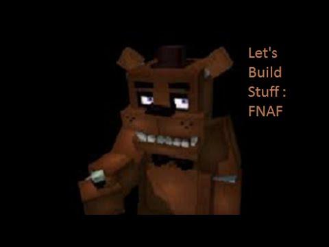 I'm Bored and Let's Build : Minecraft Fnaf