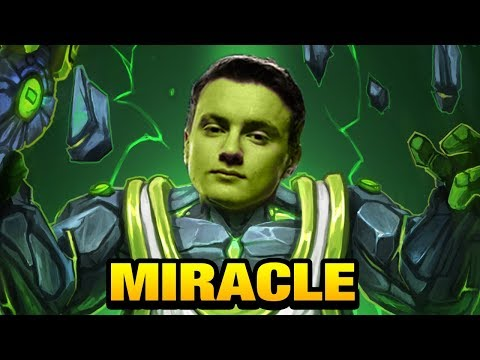 Miracle- First Party Game after TI7 [Earth Spirit] Dota 2
