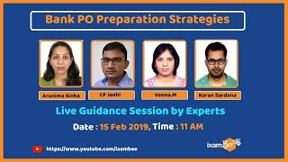 Bank PO: Live Guidance Session By ixamBee Experts