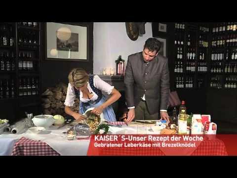 Berlin kocht Kaisers gebratener Leberkäse mit Brezel-Knödel