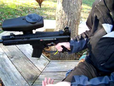 Tippmann X7 w/ Folding Stock