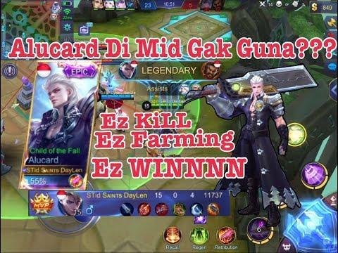 Team Pick MM 2? Alucard Mid NO PROBLEM + Tutorial