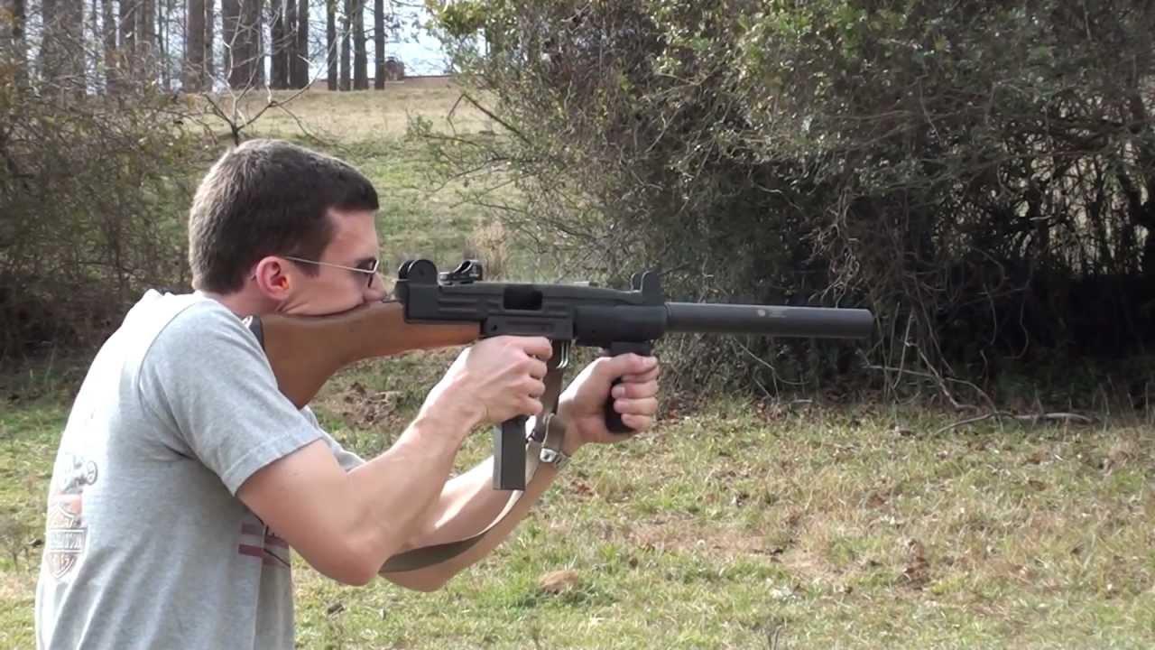 Silenced Uzi 9mm Uzi Smg in 9mm w/ Suppressor