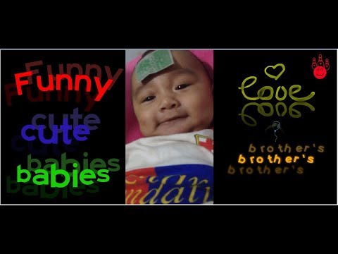 ngakak...Funny funny baby talk to her brother's