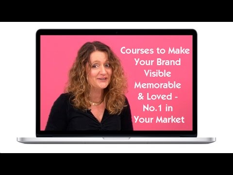 Brand Building Programmes and Courses, Lorraine Carter, Brand Expert
