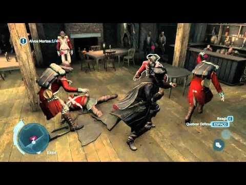 assassin\'s creed 3 briga no bar