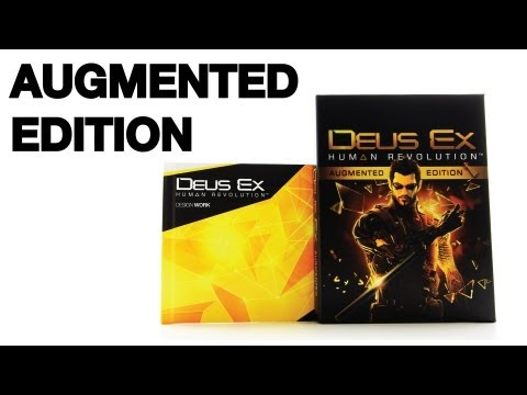 Deus Ex Human Revolution Augmented Edition Unboxing