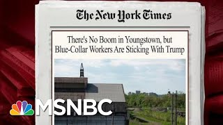 Despite Economic Losses, Blue-Collar Support For President Trump Remains | Morning Joe | MSNBC