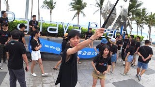 Гуляем по ПЛЯЖУ ДЖОМТЬЕН, Паттайя. Пляж днём и толпы китайцев. Дневной Марафон в Таиланде.