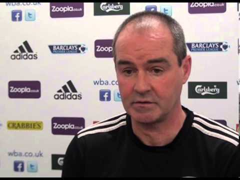 West Bromwich Albion v Swansea: Steve Clarke's preview