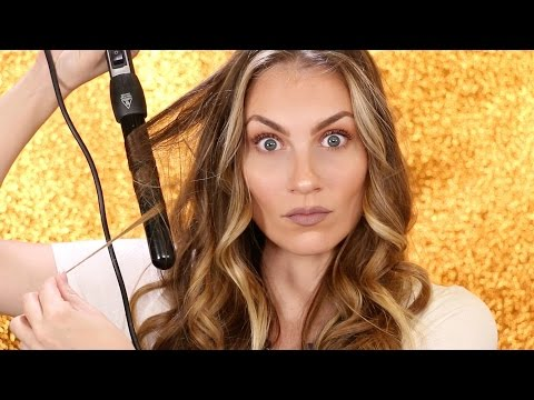 How To Curl Your Hair   Curling Wand Tutorial UNDER 10 Minutes