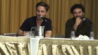 The Hobbit Panel Q&A with Dean O'Gorman and Aidan Turner at Boston Comic Con - Part 1
