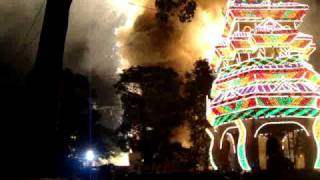 Thrissur Pooram Fireworks 2010 Video