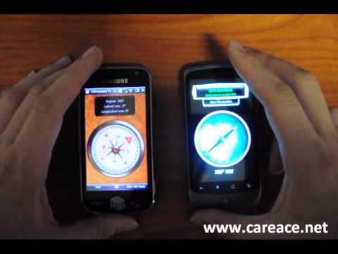 Compass Sensitivity on Samsung Omnia II and HTC Nexus One