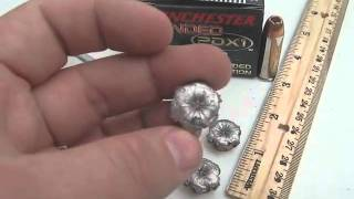 45 Long Colt - Winchester PDX-1 - 225 Gr. JHP Ammo Test