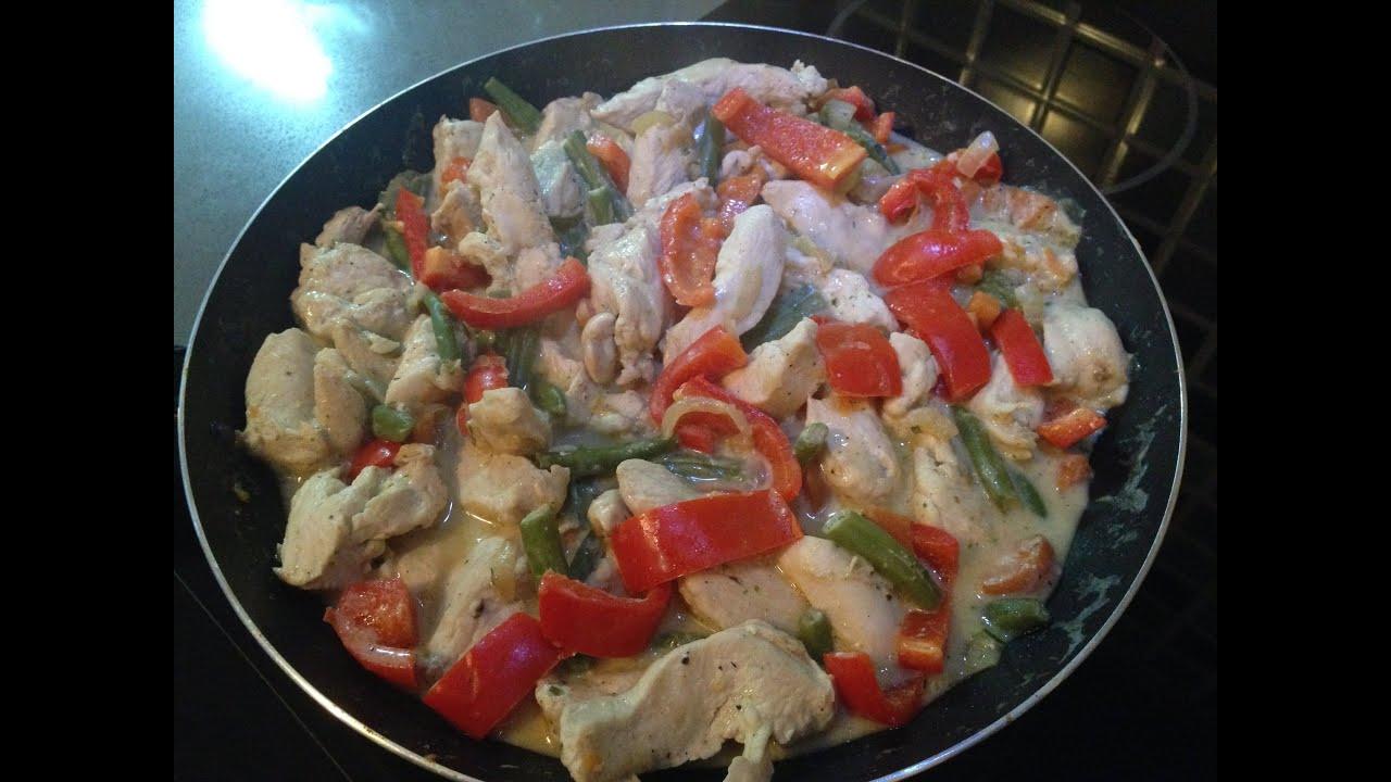 Рецепт куриная грудка запеченная с овощами