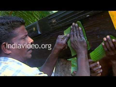 Final Touches to a Snake Boat, Alappuzha