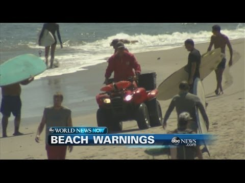 WEBCAST: Swimmers Warned of Dangerous Rip Currents