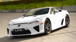 The Lexus LFA Review #TBT - Fifth Gear