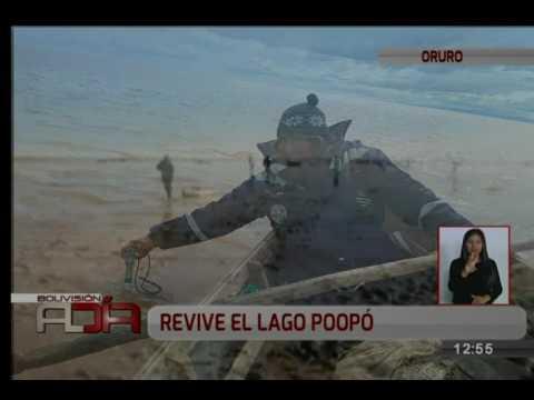 Revive el lago Poopó