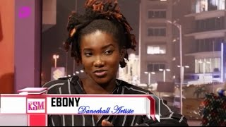 KSM Show- Ebony Reigns hanging out with KSM