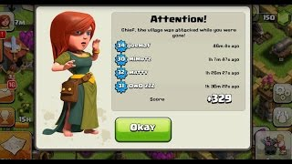 Clash Of Clans Town Hall 8 Unstopable Trophy Base Defense  2015 