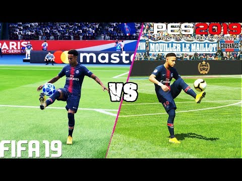 FIFA 19 vs. PES 2019: Skill Moves | 4K
