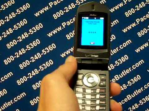 Casio G Zone - Erase Cell Phone Info - Delete Data - Master Clear Hard Reset