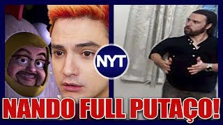 Nando Moura DETONA Felipe Neto e Izzy Nobre! YouTuber perde mais de 600 MIL INSCRITOS!