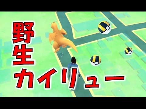【ポケモンGO攻略動画】【ポケモンGO】野生のカイリューさんと戦ってきました  – 長さ: 2:41。