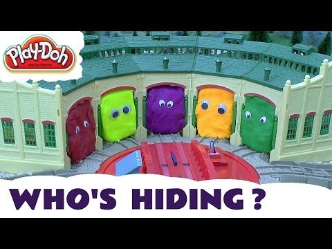 Play Doh Thomas And Friends Surprise Egg Shapes Guess The Engines 3 Play-Doh Thomas Tank